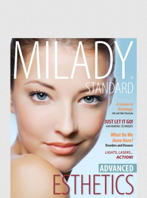 MILADY STANDARD ESTHETICS: ADVANCED TEXT W/ EXAM REVIEW BUNDLE 2ND ED.