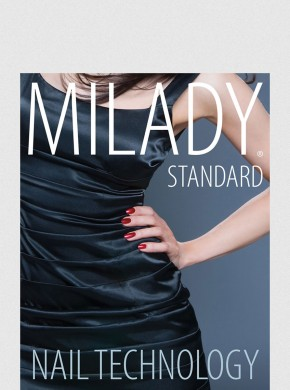 MILADY STANDARD NAIL TECHNOLOGY TEXT W/ EXAM REVIEW BUNDLE 7TH ED.