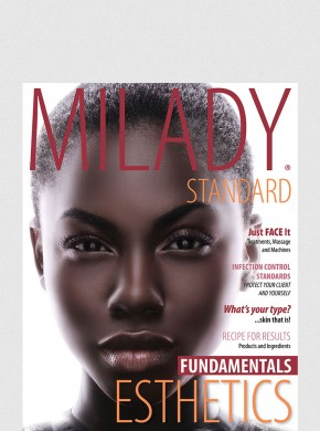MILADY STANDARD ESTHETICS FUNDAMENTALS: TEXT W/ EXAM REVIEW BUNDLE 11TH ED.